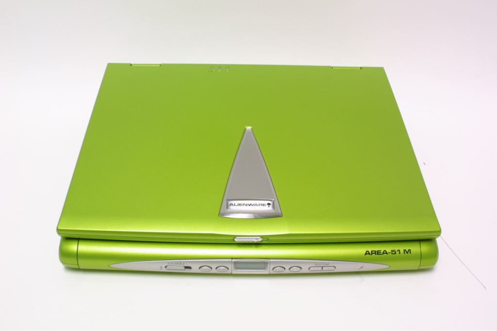 The first laptop for gamers Area-51m