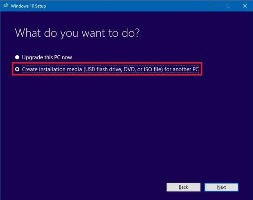 The easiest way to reinstall an operating system