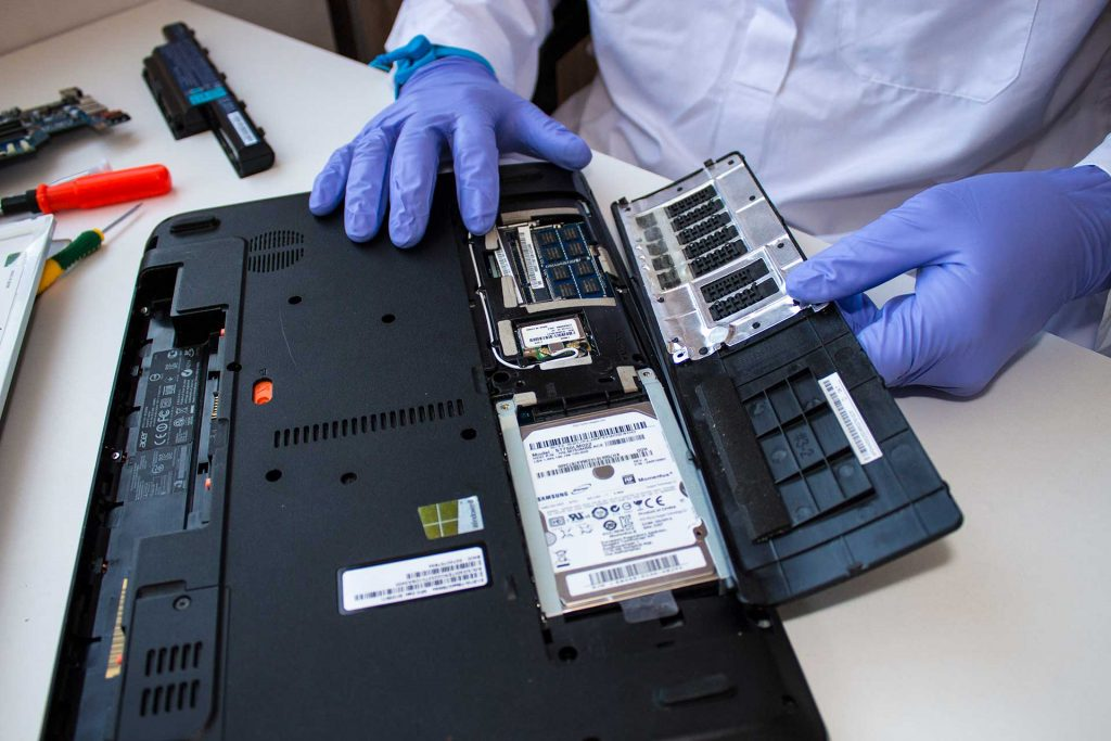 How to replace laptop hard drive and reinstall operating system